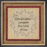 Grandchildren Prints by Karen Tribett