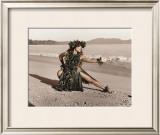 Dance of the Turtle, Hula Girl Prints by Alan Houghton