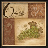Chablis Grapes Prints by Eugene Tava