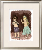 Let's Dance Prints by  Himani