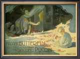 Madama Butterfly, c.1904 Prints by Adolfo Hohenstein