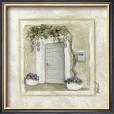 Porte et Pots de Fleurs Prints by Véronique Didier-Laurent