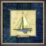 Sailing IV Prints by Charlene Audrey