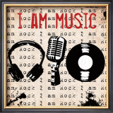I Am Music Art by Louise Carey