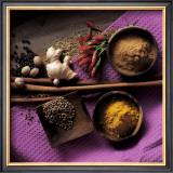 Cinnamon, Coriander, Ginger Print by Michael Boyny