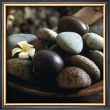Bowl with Pebbles Posters by Jean-Michel Ruiz