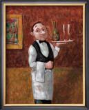 Sommelier II Framed Giclee Print by John Howard