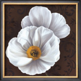 White Poppies II Poster by Jordan Gray