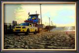 Venice Pier Framed Giclee Print by Jack Heinz