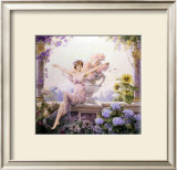 Splendor of Spring Flowers Posters by Louise Abbema