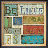 Believe and Hope I Prints by Daphne Brissonnet