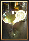 Lemon Drop Cocktail Framed Giclee Print by Steve Ash
