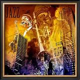 Jazzi IV Poster by Jean-François Dupuis