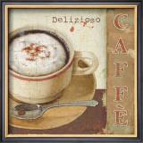 Coffee Lovers II Art by Lisa Audit