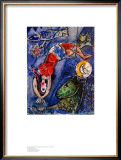 Blue Circus Posters by Marc Chagall