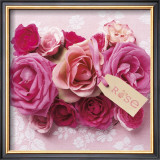 Rose Posters by Louis Gaillard
