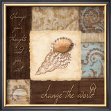 Change the World Prints by Jane Carroll