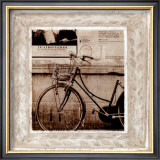 Bicycle in Florence Art by Teo Tarras