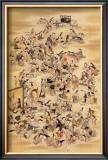 Hundred of Japanese Women Framed Giclee Print by Jyakuchu Ito