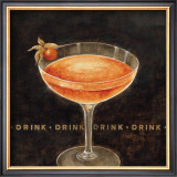Cocktail Posters by Eric Barjot
