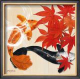 Floating Vibrant Print by Morgan Yamada