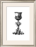 Black and White Goblet III Art by Giovanni Giardini