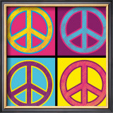 Peace in All Colors Posters by Louise Carey