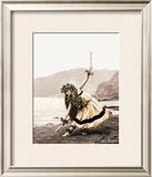 Pua with Sticks, Hula Dancer Prints by Alan Houghton