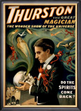 Thurston the Great Magician Framed Giclee Print