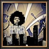 Hendrix Art by Jean-François Dupuis