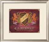 Cabernet Label Art by Angela Staehling