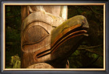 Great Northwest Eagle Spirit Totem Framed Giclee Print by Charles Glover