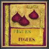 Figs Prints by Francoise Persillon