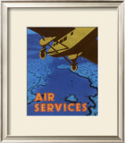 Air Services Posters by Diego Patrian