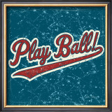 Play Ball Prints by Peter Horjus