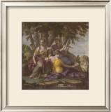 Muses V Prints by Eustache Le Sueur