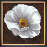 White Poppies I Prints by Jordan Gray