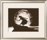 Moon Dancer, Hula Girl Print by Alan Houghton