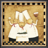 Bistro Chefs Posters by Dan Dipaolo