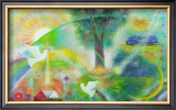 The Founding Nation in Sunshine Framed Giclee Print by Miyuki Hasekura
