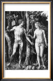 Adam and Eve, c.1504 Print by Albrecht Dürer