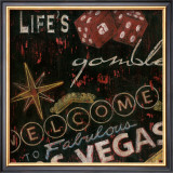 Life's a Gamble Print by Eugene Tava