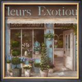 Fleurs Exotique Poster by  Nan