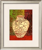 Lotus Pot I Prints by Joyce Lieberman