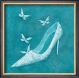 Butterfly Motif Shoe Prints by Deb Garlick