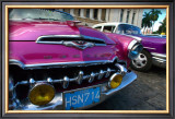 Desoto in Pink Framed Giclee Print by Charles Glover