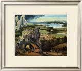 Saint Jerome on the Road Prints by Joachim Patinir