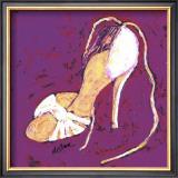 Sassy Shoe I Prints by Deann Hebert