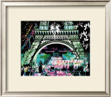 Paris by Night Prints by  Kaly
