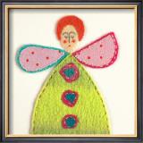 Fuzzy Fairy II Art by Madeleine Millington